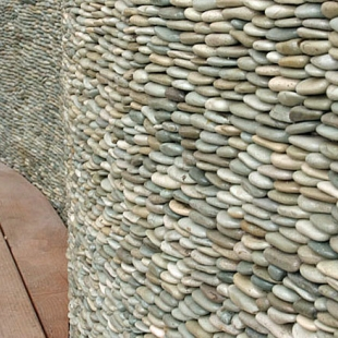 Мозаика, имитирующая каменную кладку