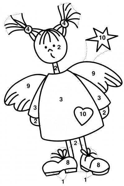 Новогодний эскиз - ангел
