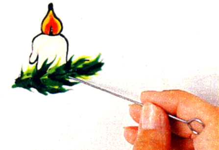 Рисование красками на стекле